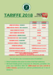 TARIFFE 2018 GOLF CLUB VALDICHIANA
